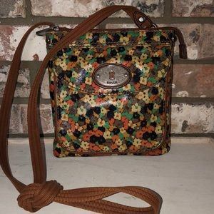 Fossil Key-Per crossbody pre owned condition